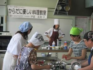 からだに優しい料理教室① (4)