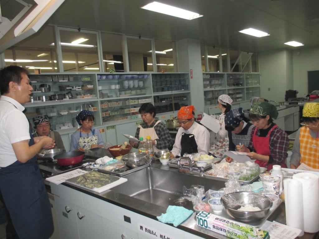 からだに優しい料理教室③ (5)