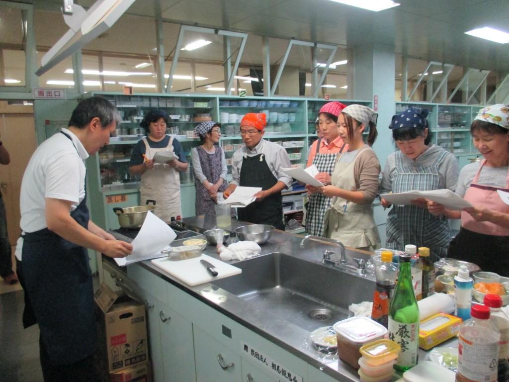 からだに優しい料理教室② (4)