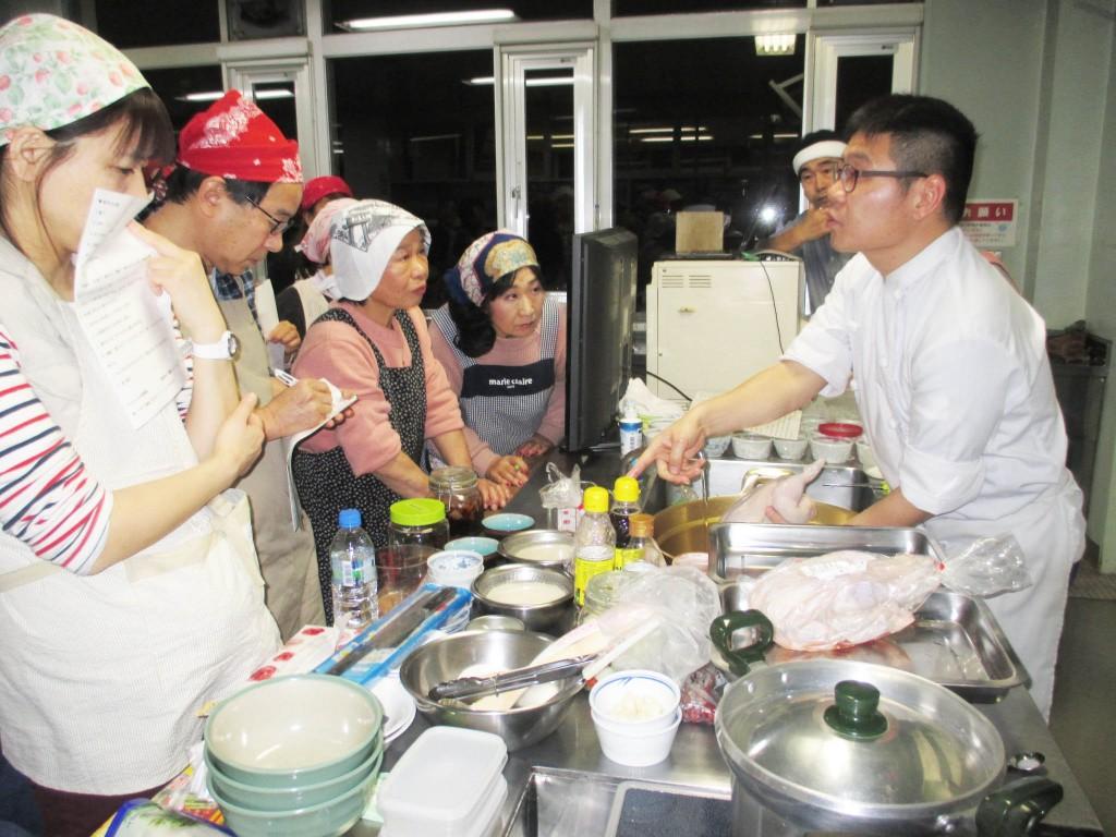 参鶏湯を作ろう (14)