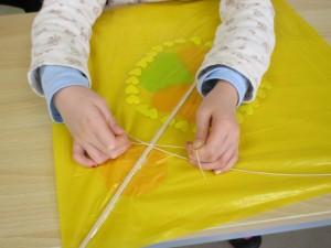 手作り「和凧」教室 (4)