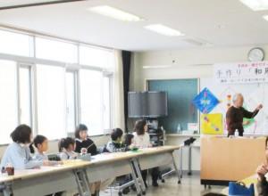手作り「和凧」教室 (3)